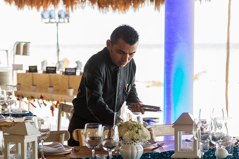 Servicio de catering en Cancún