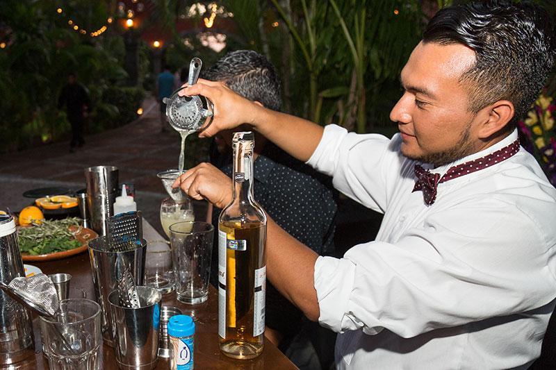 Servicio de bebidas en eventos