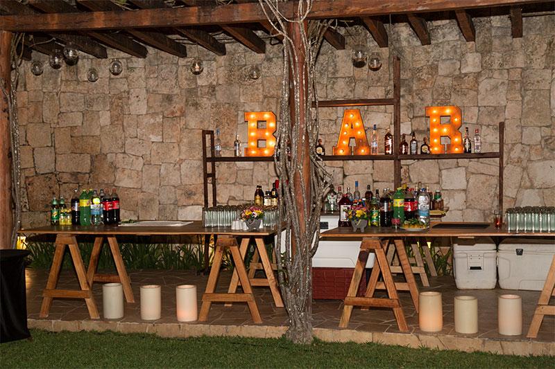 Bar catering y bebidas
