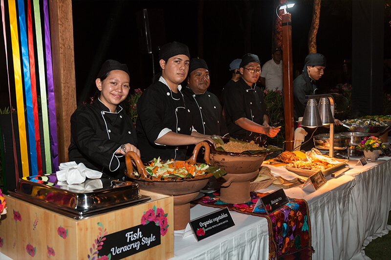Catering para eventos en Cancun
